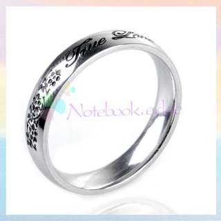 Mens Stainless Steel Band Ring   6Fashion Design U pick