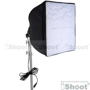 Umbrella Soft Box/Diffuser with E27 100W Photo Studio Light Socket