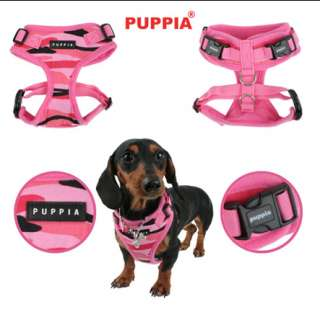 Combat Rite Fit Puppia Dog Harness ADJUSTABLE NECK & CHEST   Green