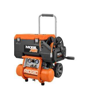RIDGID 2.5 Gallon Portable Electric Air Compressor OF25135CW at The