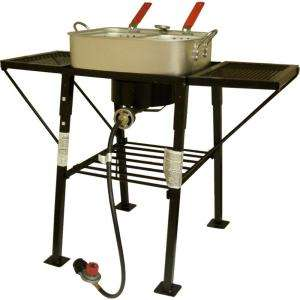 King Kooker 25 in. Rectangular Portable Propane Outdoor Cooker with