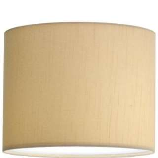 Progress Lighting Markor Collection Beige Silk Accessory Shade P8821