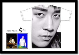 BIGBANG BIG BANG SEUNGRI OFFICIAL PROMO FACE T SHIRT