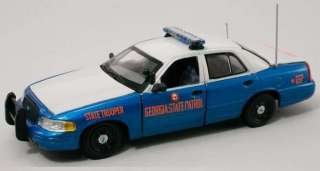 First Response 1/43 Georgia State Police Ford Crown Victoria