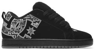 DC Shoes Court Graffik SE Black/Battleship/Armor Skate Shoes Trainers