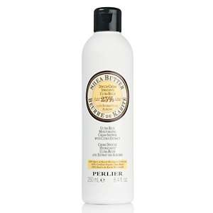 Perlier Shea Butter with Vanilla Extract Moisturizing Cream Shower
