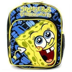 Spongebob Squarepants 10 Mini Toddler Backpack Toys & Games