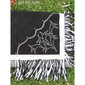 Western Show Barrel Racing Rodeo Saddle Blanket Pad 052