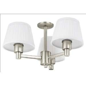Hunter 22379 Contemporary Ceiling Fan Light Kit with Fabric Shades