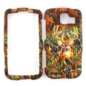 LG Optimus S LS670 Camo / Camouflage Hunter Series, w/ Deer Hard Case