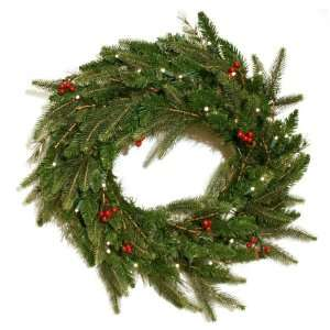 Good Tidings 4750047 Brewer Spruce Artificial Prelit Christmas Wreath