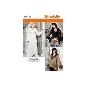 Simplicity Sewing Pattern 2163 Misses Costume, Size Hh