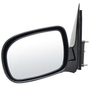 2L00 Chevrolet Venture Black Manual Replacement Driver Side Mirror