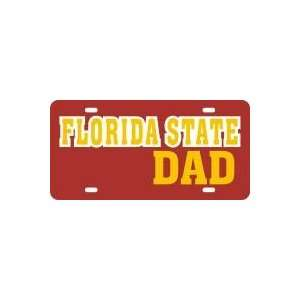 FLORIDA STATE DAD LICENSE PLATE