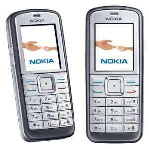 Nokia 6070 Silver Unlocked GSM Cellphone Cell Phones & Accessories