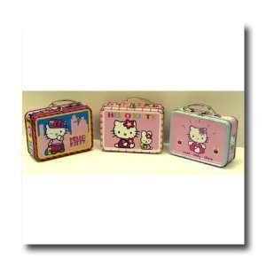 Hello Kitty Mini Tin Lunch Box Set of 3