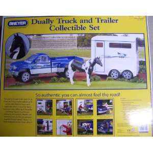 Horse Truck and Trailer Collectible Set with Horse Toys & Games