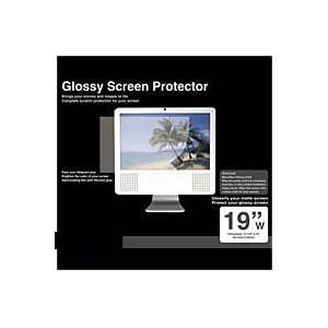 PCMICROSTORE 19w Inch Glossy Wide Screen LCD Monitor Protector Screen