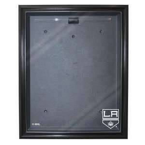 Los Angeles Kings Cabinet Style Jersey Display, Black