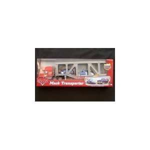 Disney Pixar Cars Mack Transporter Truck with Chick, Leakless