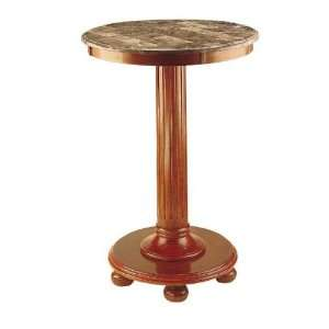 Marble Top Pub Table   Maple