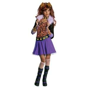 Lets Party By Rubies Costumes Monster High   Clawdeen Wolf