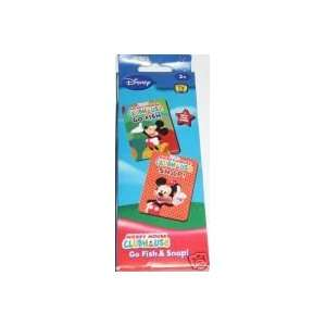Mickey Mouse Clubhouse Card Games (Go Fish & Snap)  Toys & Games