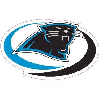 Carolina Panthers Team Auto Window Decal (12 x 10  inch)