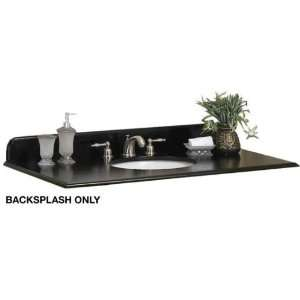 Hampton Bay 44w Black Granite Backsplash, 44W BLACK, HAZEL BROWN