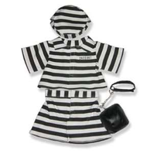 Prison Outfit Outfit Teddy Bear Clothes Fit 14   18