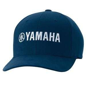 Fox Racing Yamaha Hat   Large/X Large/Navy Automotive
