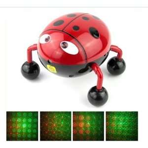 LadyBug DJ Lighting Sound Activated Disco Music Laser stage Lighting