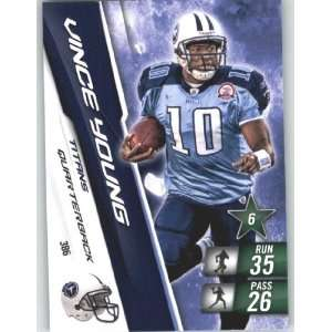 XL NFL Football Trading Card # 386 Vince Young   Tennessee Titans