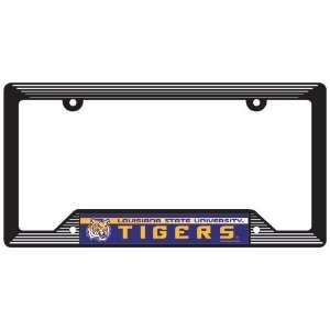 Louisiana State University License plate frames