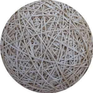 White Rubber Ball Art   Fridge Magnet   Fibreglass reinforced