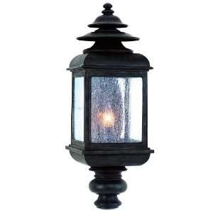 Adams Wall Lantern in Colonial Iron Size 22.5 H x 8 W