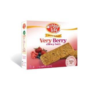 Enjoy Life Very Berry Chewy On The Go Bars, Gluten, Dairy & Nut Free