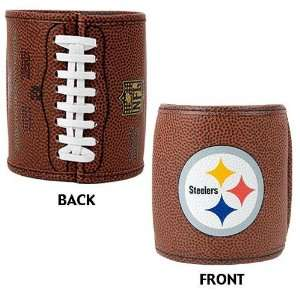 Pittsburgh Steelers NFL 2pc Football Can Holder Set
