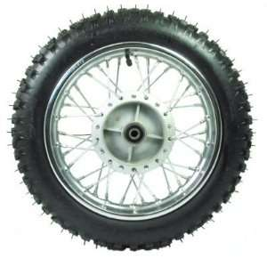 Power Sports 12 Dirt Bike Rear Wheel Assembly