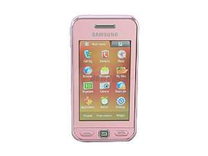 Samsung Star Pink Unlocked GSM Touch Screen Phone w/ 3.2MP Camera/ 10