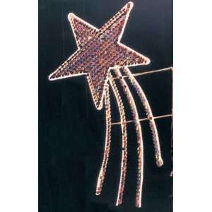 Flitter Shooting Star   Christmas Light Display