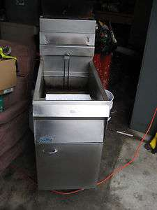 Pitco Frialator 14 Commercial Gas Deep Fryer Working Condition