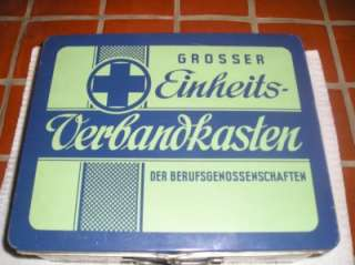 German first aid kit 50s mercedes