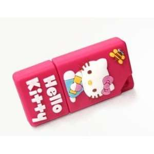 Hello Kitty Cartoon Style USB flash drive(Rose Pink) Computers