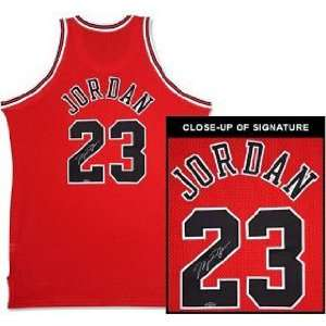 Michael Jordan Signed Chicago Bulls Jersey Sports