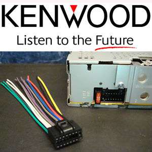 KENWOOD 16 PIN RADIO WIRE HARNESS PLUG CD TAPE STEREO